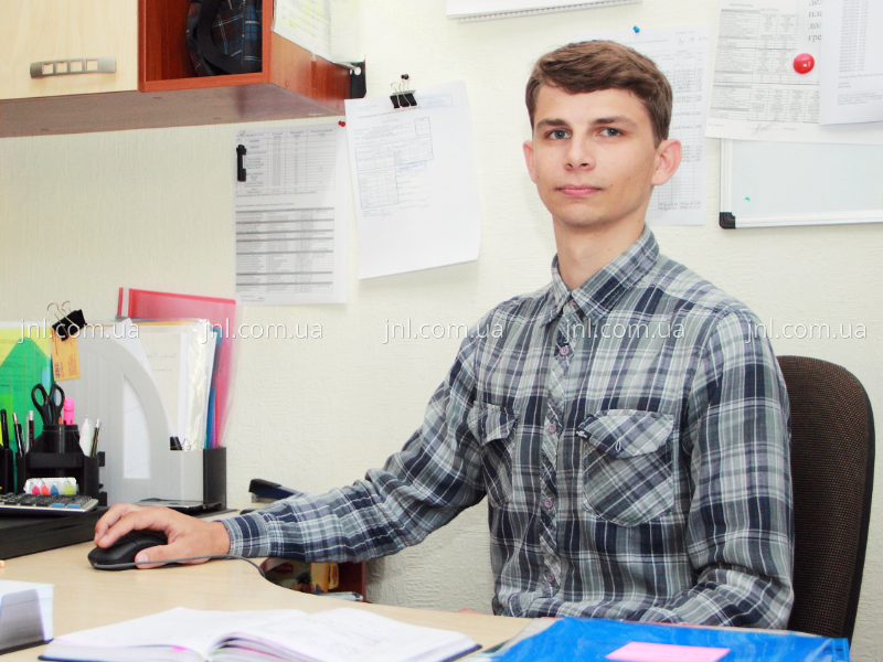 Marketing manager Artem Kovalov