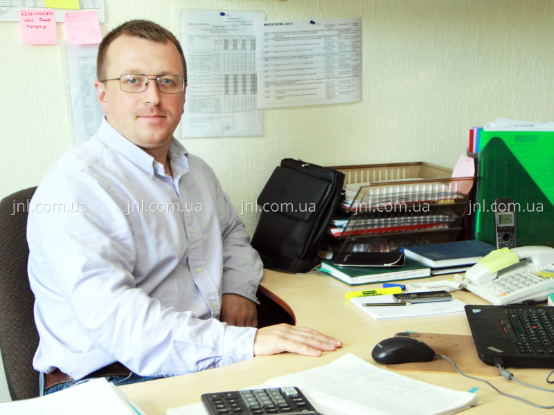 Head of Sales department Serhiy Kyriyenko