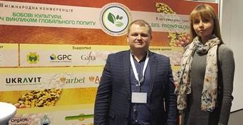 "Participation in the 2nd International conference ""Pulses. Facing  global demand"""