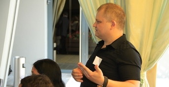 "Participation in the 1-st Chernihiv forum of exporters ""Experience of Leaders — a Way to Success!"""