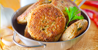 PEA CUTLETS